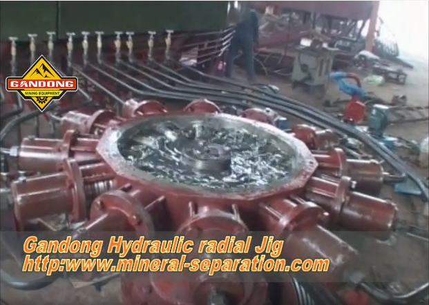 Hydraulic radial jig test video
