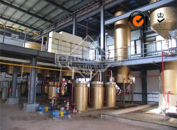 Gold Heap Leaching Production Line